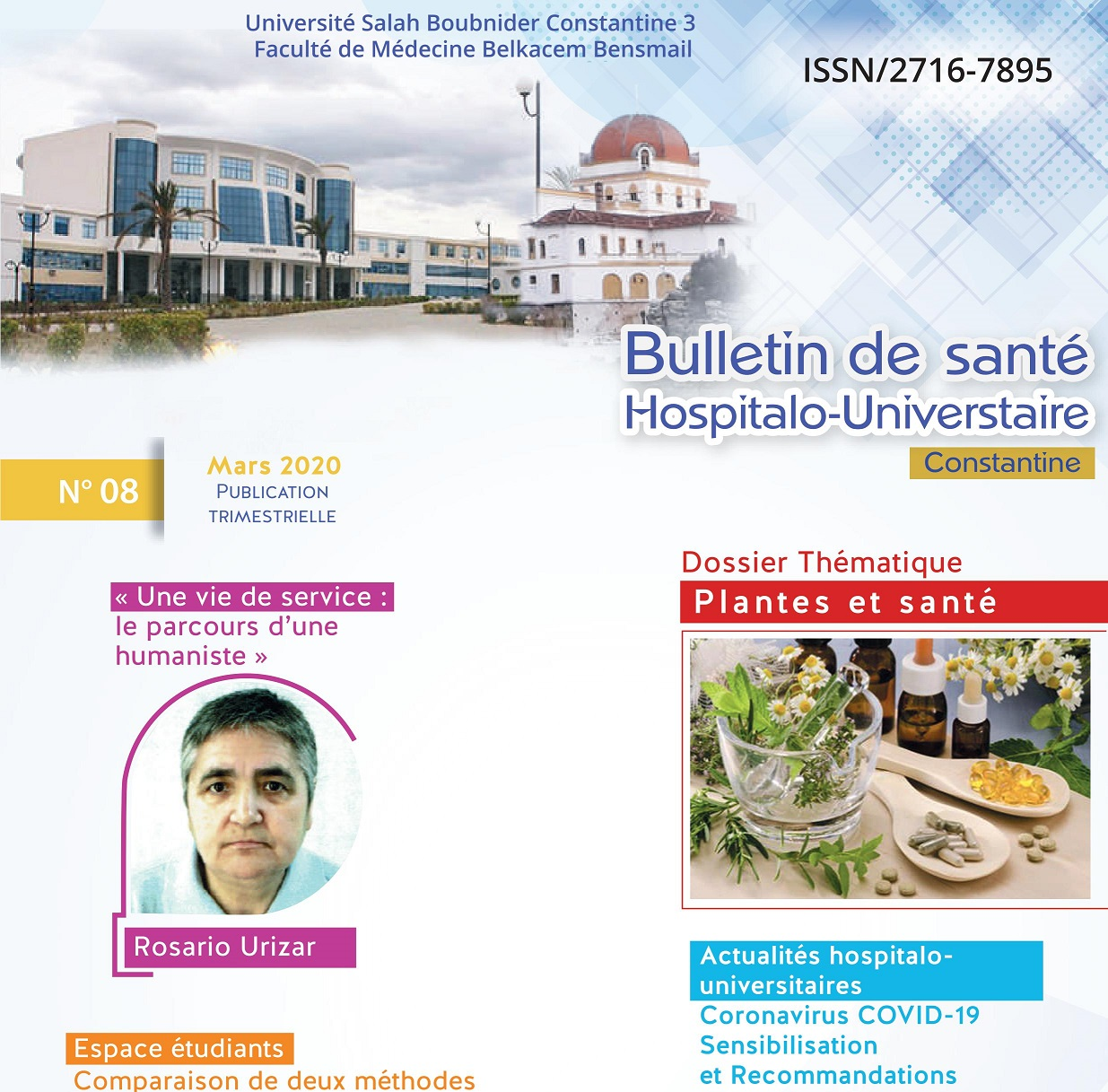 Bulletin de santé Hospitalo-Universitaire de Constantine