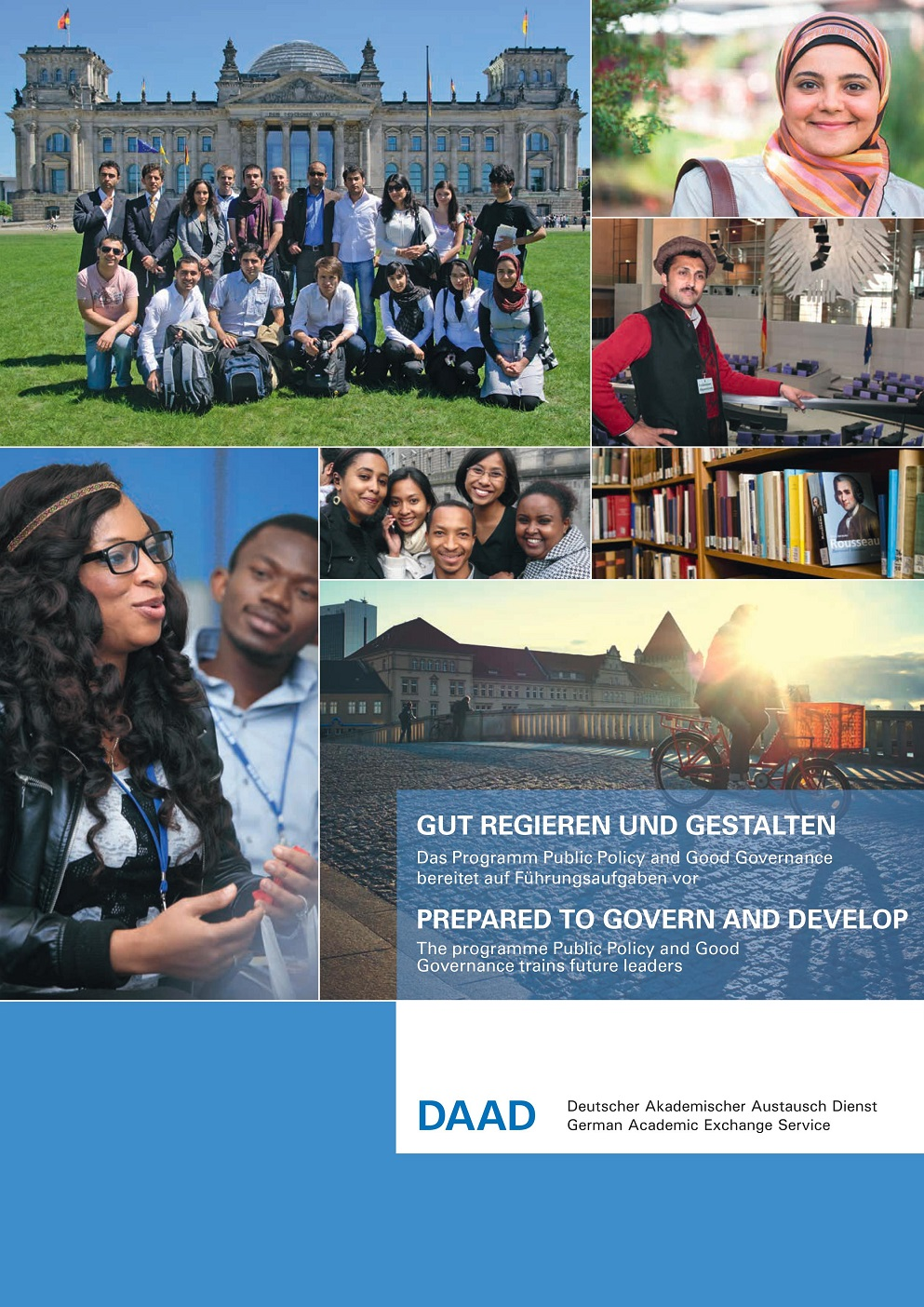 DAAD Helmut-Schmidt Masters Scholarships for Public Policy and Good Governance in 2020/2021.