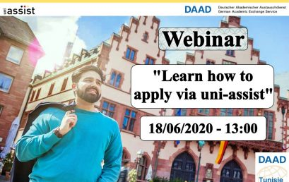 DAAD: Learn how to apply via unit-assist.